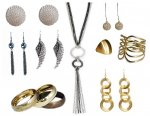biżuteria srebrna i złota