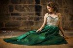 modnie ubrana kobieta
